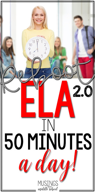 ELA in 50 Minutes a Day!