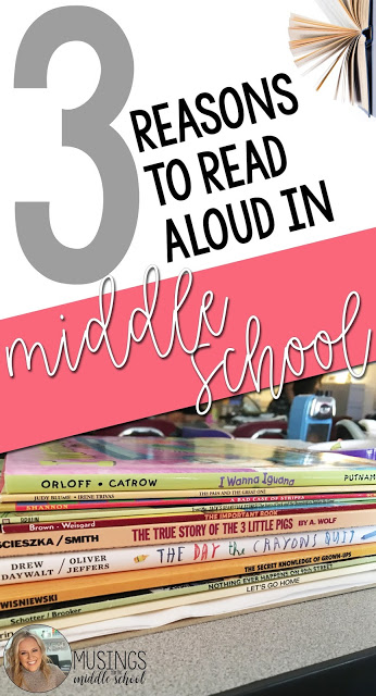 3 Reasons to Read Aloud in Your Middle School Classroom